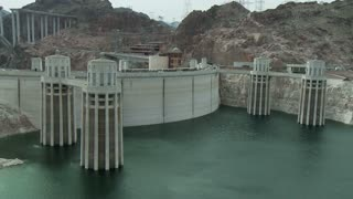 Timelapse Hoover Dam Water Levels