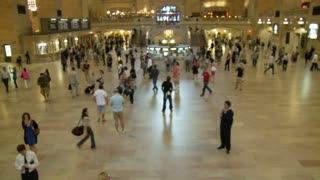 Timelapse In Grand Central Station 2