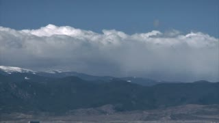 Timelapse of Clouds on Mountain Tops