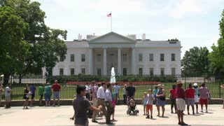 Timelapse Outside White House