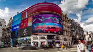 Timelapse Picadilly Circus - London