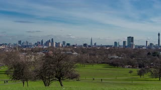 Timelapse Primrose Hill - London