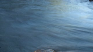 Timelapse Rippling Water