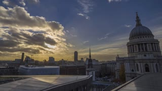 Timelapse Saint Paul Cathedral - London