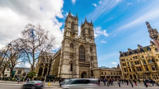 Timelapse Westminster Abbaye - London