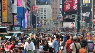 Times Square Crowds 3
