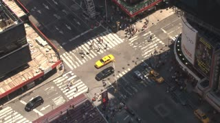 Times Square Intersection During the Day 4