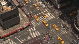 Times Square Intersection in Daytime 2