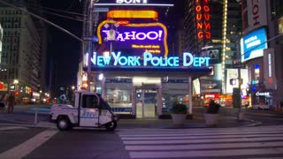 Times Square NYC Police Department