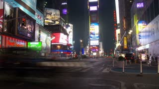 Times Square NYC Timelapse