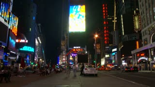 Times Square Street Level NYC Timelapse