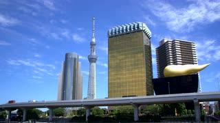 Tokyo Partial Skyline In Daytime