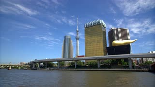 Tokyo Sky Tree With Daytime Skyline