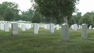 Tombstones at Arlington National Cemetery 10