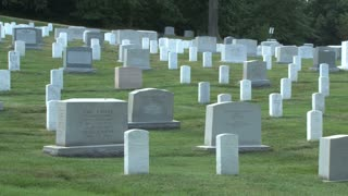 Tombstones at Arlington National Cemetery 2