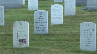 Tombstones at Arlington National Cemetery 3