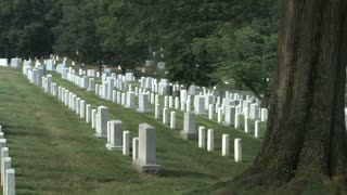 Tombstones at Arlington National Cemetery 5