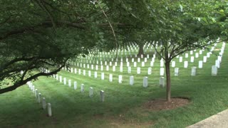 Tombstones at Arlington National Cemetery 6
