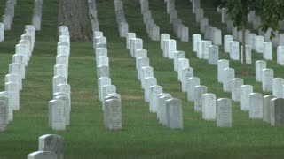 Tombstones at Arlington National Cemetery 9