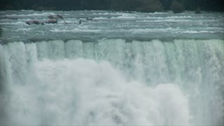 Top of Niagara Falls Cliff