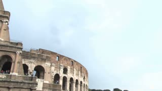 Top of the Colosseum Panning