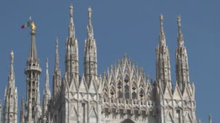 Top of the Duomo in Milan
