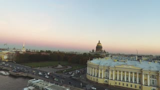 Top View On The City St.-Petersburg Russia