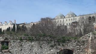 Topkapi Palace Walls