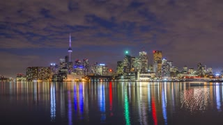 Toronto at Night Time