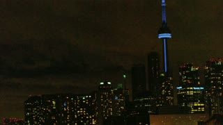 Toronto Cityscape Nighttime