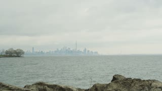 Toronto Skyline From Distance