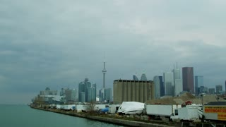 Toronto Skyline From Pier