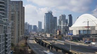 Toronto - The Gardiner Expressway 4K