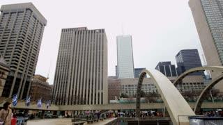 Toronto's Nathan Philips Square