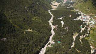 tourist infrastructure. Mountain settlement