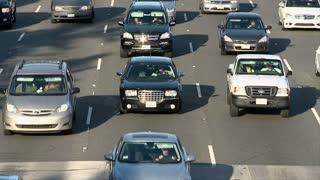 Traffic Commute Timelapse