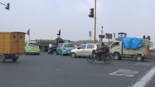 Traffic in Chennai India