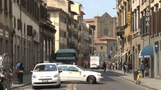 Traffic in Florence
