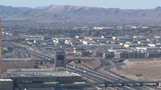 Traffic Leaving Vegas