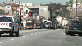 Traffic Light Los Angeles Timelapse