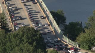 Traffic On Georgetown Bridge