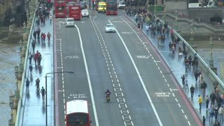 Traffic View On London Bridge