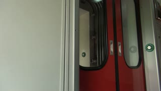Train Doors Wobbling with Motion