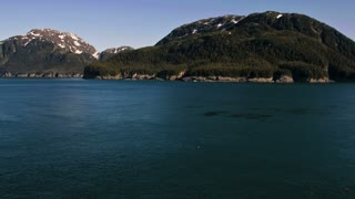 Traveling Along Alaskan Coastline