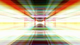 Traveling through a maze of refracted light (Loop).