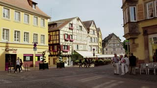 Trolley in Colmar Alsace France