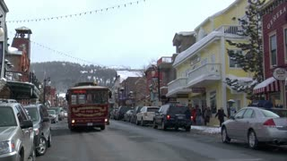 Trolley On Main St, Park City Utah