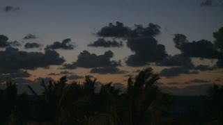 Tropical Cloudy Sky