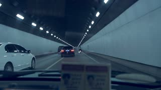 Tunnel Driving Time Lapse in Nanjing
