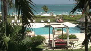 Turks and Caicos Island Hotel Resort Poolside 6